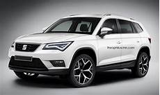 The Seat Ateca Gets Rendered As The Skoda Kodiaq Doesn T