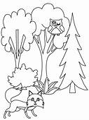 Tree16 Trees Coloring Pages Page & Book For Kids