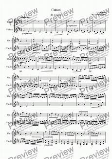 violin duet canon in d for 2 violins download sheet