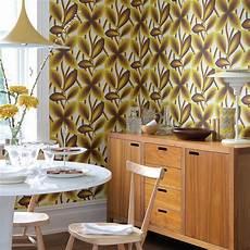 60er Jahre Design - 60er jahre tapete starflower greene 2205