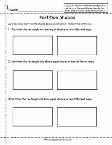 subtraction worksheets partitioning 10224 partitioning shapes into equal parts worksheet search 3rd grade fractions 2nd grade