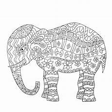 Ausmalbilder Elefant Mandala Mandala Elephant Coloring Page Elephant Coloring Page