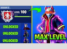 FASTEST WAY TO UNLOCK MAX LEVEL DRIFT IN FORTNITE SEASON 5