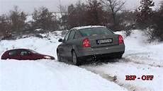 vw passat b5 5 4 motion in snow 2