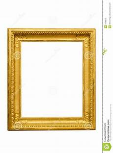 goldener bilderrahmen goldener bilderrahmen stockbild bild von deco
