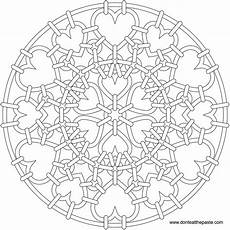 mandala coloring pages hearts 17922 don t eat the paste heartmail mandala