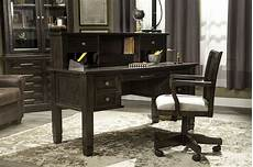 ashley furniture home office ashley townser home office leg desk mathis brothers