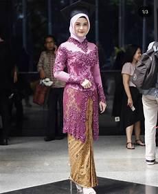 Model Kebaya Modern Wisuda Muslim Wanita Model