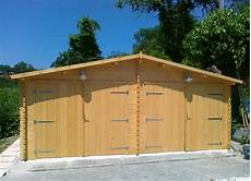 box per auto in legno garage in legno doppio 6x6
