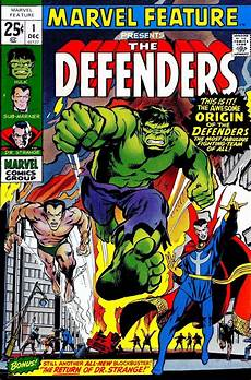 marvel feature 1 defenders neal cover pencil ink