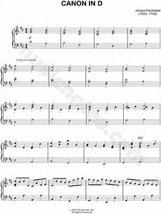 johann pachelbel quot canon in d quot sheet music piano solo in d major transposable download