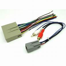 ford wiring harness system ford car stereo cd player wiring harness wire aftermarket radio install ebay