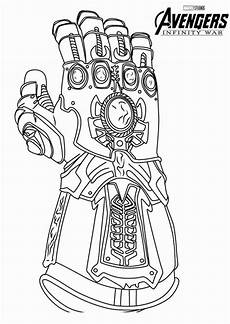 Ironman Malvorlagen Ragnarok Infinity Gauntlet Coloring Page Awesome Awesome Infinity