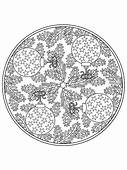 Mandala Christmas Tree Ornaments Coloring Pages  Best