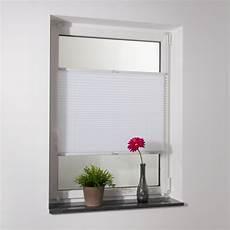 Fenster Jalousien Ohne Bohren - fenster plissee easyfix faltenrollo jalousie rollo
