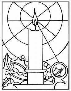 candle coloring page crayola