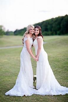 louisiana rustic diy wedding two brides equally wed modern lgbtq weddings lgbtq