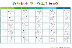 japanese katakana worksheets 19520 27 downloadable katakana charts
