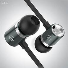 Hybrid Earphone Heavy Bass Headphone With by Original 3 5mm Headphone For Microphone Metal