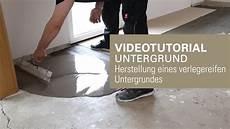 Verlegereifen Untergrund Herstellen Untergrund Mit