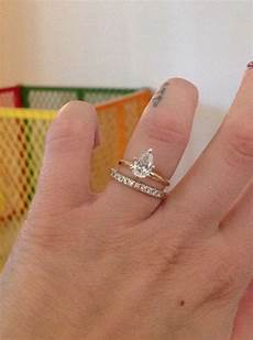 plain pear solitaire needing advice for wedding band yellow engagement rings pear shaped