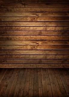 Wooden Backdrop 2019 brown wooden wall floor photography backdrops vinyl