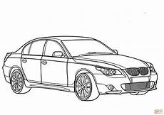bmw 5 series coloring page free printable coloring pages