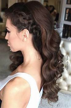 Curly To The Side Hairstyles