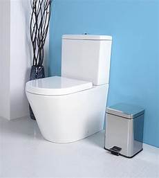 Stand Wc Boden Wc Modern Eckig Paco Toilette Rimless Soft
