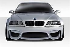2001 2006 bmw m3 e46 duraflex m4 look front bumper 1