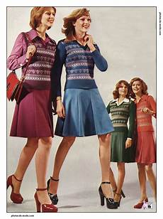 Mini Jupe 1974 Vintage Dress 70 S Mode Vintage Mode