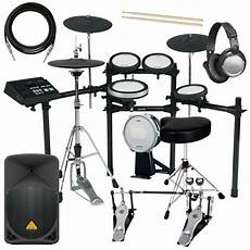 yamaha e drums yamaha dtx720k electronic drum set complete drum bundle ebay