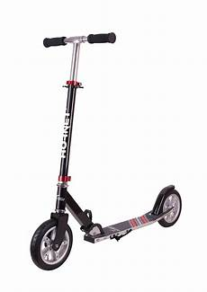hornet scooter roller air 200 schwarz rot luftreifen