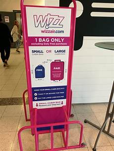 cabin baggage wizzair holidaytriptips on quot wizzair is quite