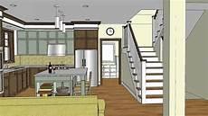 unique craftsman home design with open floor plan stillwater craftsman youtube