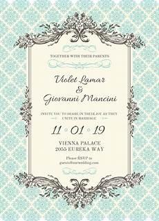 Wedding Card Invitation Design