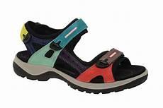 ecco offroad outdoor sandale f 252 r damen mehrfarbig