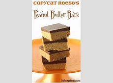 copycat reeses peanut butter no bake bar_image