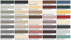 dark charcoal color pallete chip sle swatch palette color charts exterior