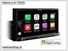 alpine ilx 702d autoradio 7 android auto apple carplay
