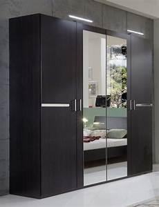 armoire chambre à coucher armoire 4 portes chambre 192 coucher wengue