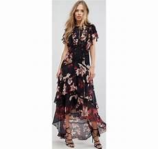 vestito con fiori forever new vestito lungo a fiori multicolore asos