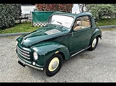 fiat topolino 500 c trasformabile model year 1952