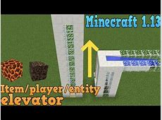 how to make a bubble elevator minecraft