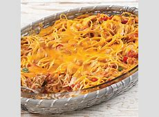 Baked Spaghetti with Chicken image