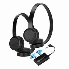 Wireless Stereo Dual Bluetooth Sport Earphone by Wireless Dual Headset Bluetooth Tv Connection Kit With