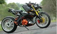 Modifikasi Motor Satria Fu 150 by Modifikasi Suzuki Satria Fu 150 Fighter