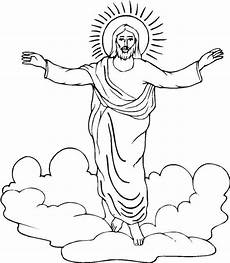awesome jesus resurrection picture coloring page идея