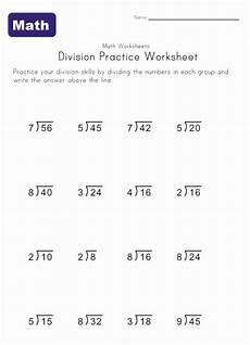 single digit division worksheet 2 dessert ideas