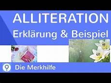 alliteration was ist eine alliteration erkl 228 rung